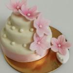 Tortina fiori rosa